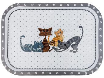 Поднос Озорные коты 40*29*1,5см