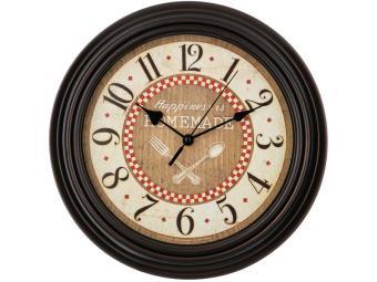 Часы настенные CHEF KITCHEN (венге) 30*30*5см