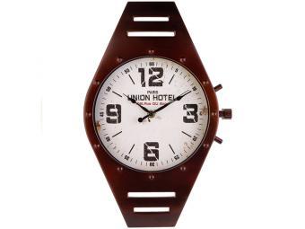Часы настенные WATCH (черный) 41*26см