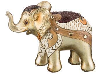 Фигурка ''Слон золотой'' 15*6,5*11,5см коллекция ''Чарруа''