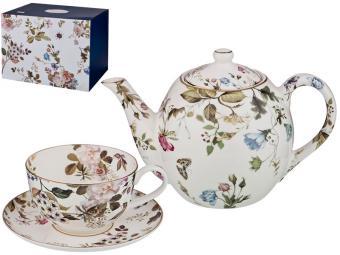 Чайный сервиз 13 предметов 1000мл 200мл Belle