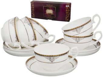 Чайный набор 12 предметов 250мл Фаберже