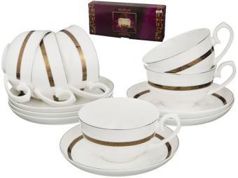 Чайный набор 12 предметов 250мл Бекингем