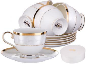 Чайный набор 12 предметов 225мл Лилиан