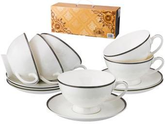 Чайный набор 12 предметов 250мл Ницца