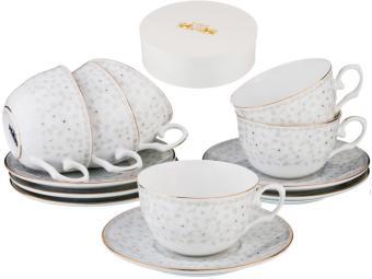 Чайный набор 12 предметов 250мл Вивьен