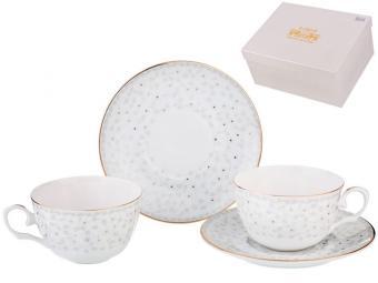 Чайный набор 4 предмета 250мл Вивьен
