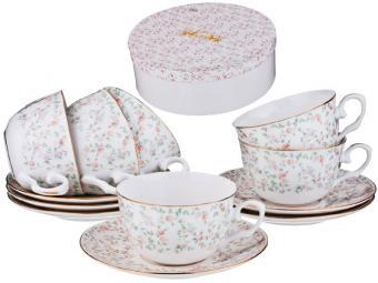 Чайный набор 12 предметов 250мл Фабьен