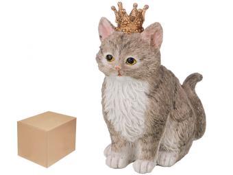 Фигурка ''Кошка в короне'' 11,5*8,5*14,5см