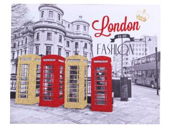 Панно London is so fashion 50*40см