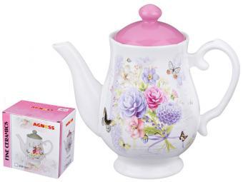 Чайник заварочный керамический Георгина 1л