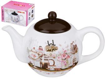 Чайник заварочный керамический Coffee 900мл