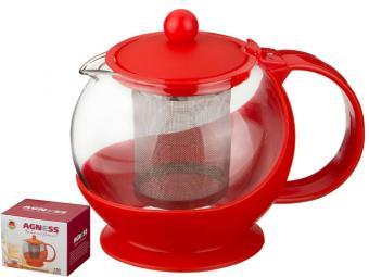 Чайник заварочный Красный 750мл