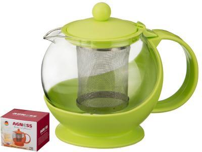 Чайник заварочный 750мл Зеленый Арти-М