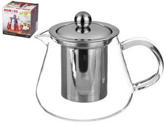 Чайник заварочный с фильтром жаропроч 700мл