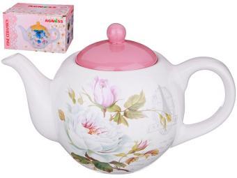 Чайник заварочный 900мл Шиповник 358-1112