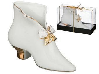 Салфетница-туфелька с бантиком Venezia