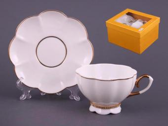 Чайный набор на одну персону со стразами