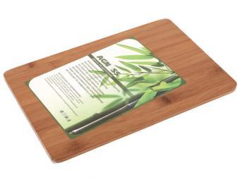 Доска разделочная бамбук 30*20*0,9см