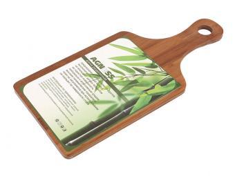 Доска разделочная бамбуковая 35*16см с ручкой
