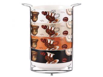 Набор салатников Шоколадный завтрак 4пр