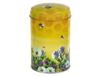 Банка жестяная Пчелки 1,1л 16см