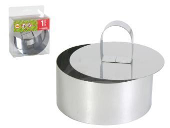 Формы кольца и пресс для салата 10*4,5см