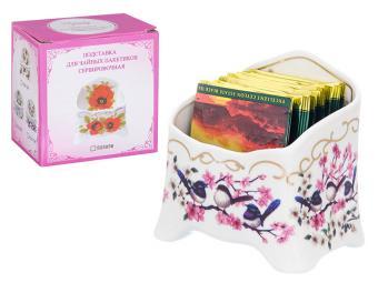 Подставка для чайных пакетиков Райские птички