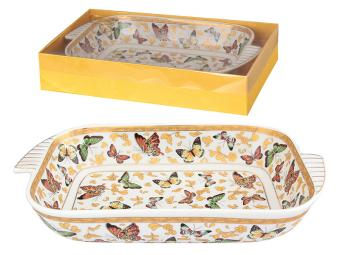 Шубница Бабочки 900мл 28,5*15,5*5,5см