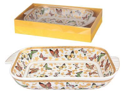 Шубница Бабочки 900мл 28, 5*15, 5*5, 5см
