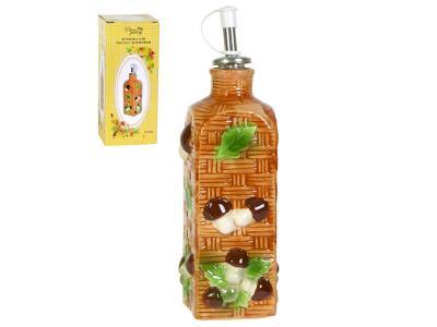 Бутылка для масла 300мл Грибы