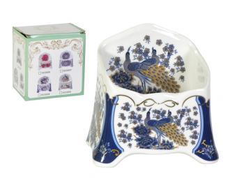 Подставка для чайных пакетов Павлин синий