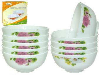 Набор салатников 10пр Летний букет (60606)
