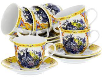 Чайный набор 12пр. 220мл Павлин