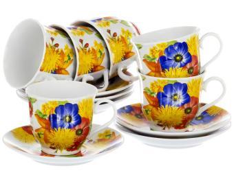 Чайный набор 12пр Букет