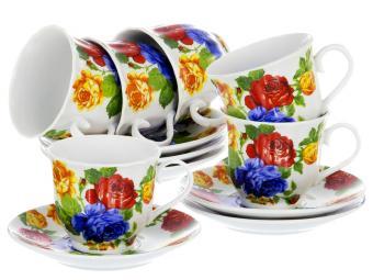 Чайный набор 12пр Яркий
