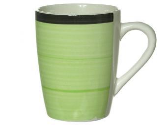 Кружка 350мл GREEN Яблоко, керамика