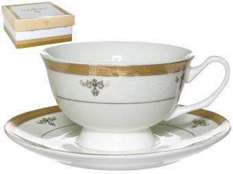 Чайная пара 220мл ''Королевская лилия'' п/упак