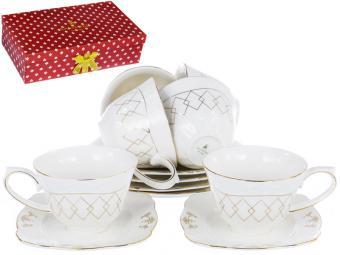 Кофейный набор Грация «АМАНДИН» 110 мл, 12 предметов