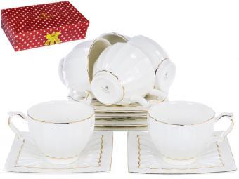 Чайный набор Грация «ЛОРАН» 220 мл, 12 предметов