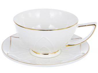 Чайный набор Грация «ЛЕОН» 200 мл, 12 предметов