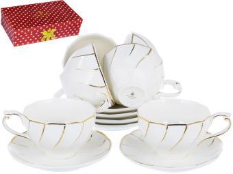 Чайный набор Грация «СЕЛИЯ» 200 мл, 12 предметов