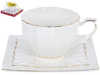 Чайный набор Грация «ЛОРАН» 220 мл, 2 предмета
