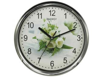 Часы настенные ENERGY ЕС-128 круглые 660197