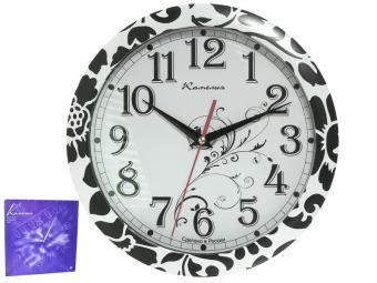 Часы настенные ''Классика в цветах'' d29см