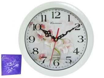 Часы настенные ''Орхидеи'' d29см