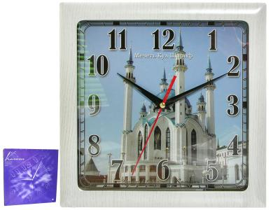 Часы настенные ''Кул-Шариф'' 29*29 см Камелия