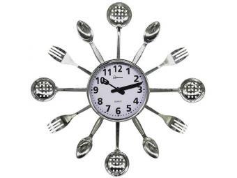 Часы настенные HOMESTAR HС-15 Ложки, вилки, шумовки