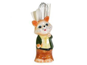 Подставка для лопаток Модный кот