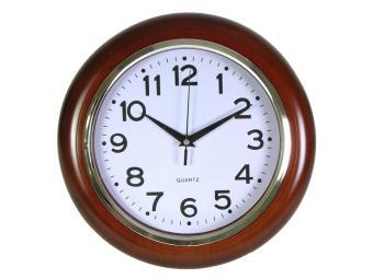 Часы настенные Под дерево 29,2*29,2см
